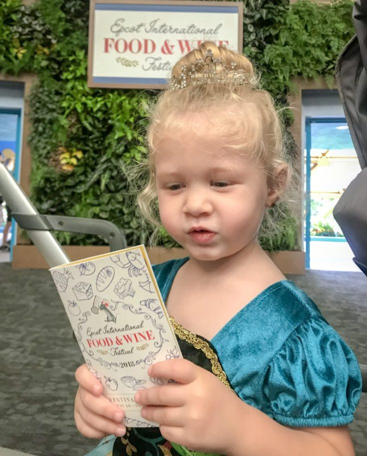 Epcot Food & Wine Festival with kids