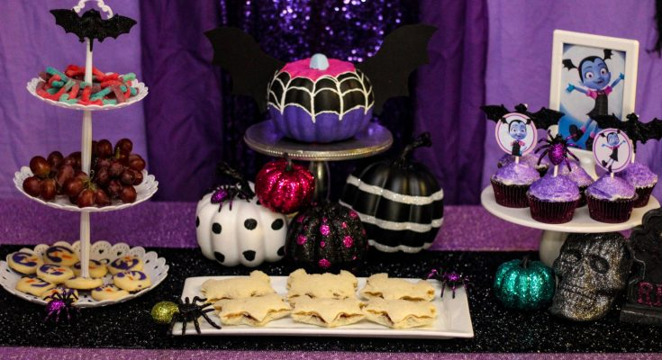 Vampirina party ideas and free printables