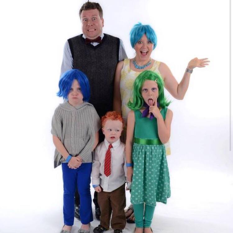 Inside Out Family Costume Ideas for Halloween