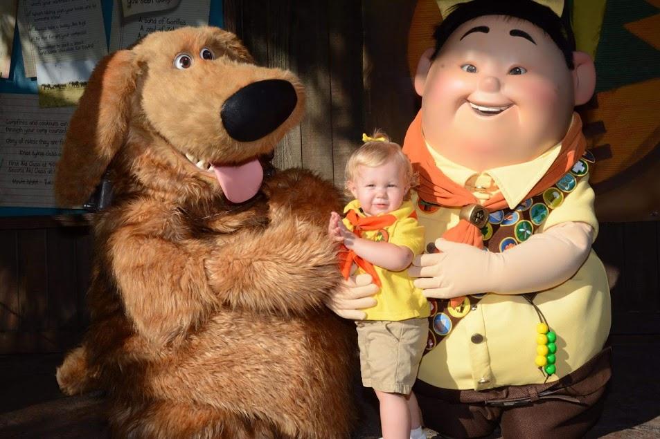 Pixar's Up Disney Family Halloween Costumes