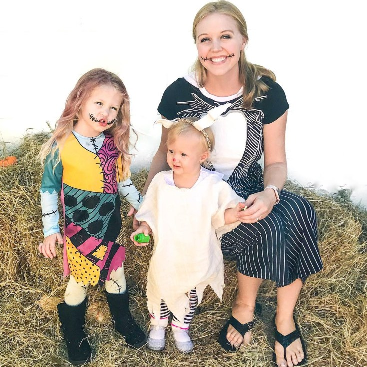 Nightmare Before Christmas Family Halloween Costume Ideas