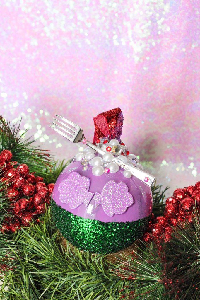 DIY Ariel Little Mermaid Christmas Ornament