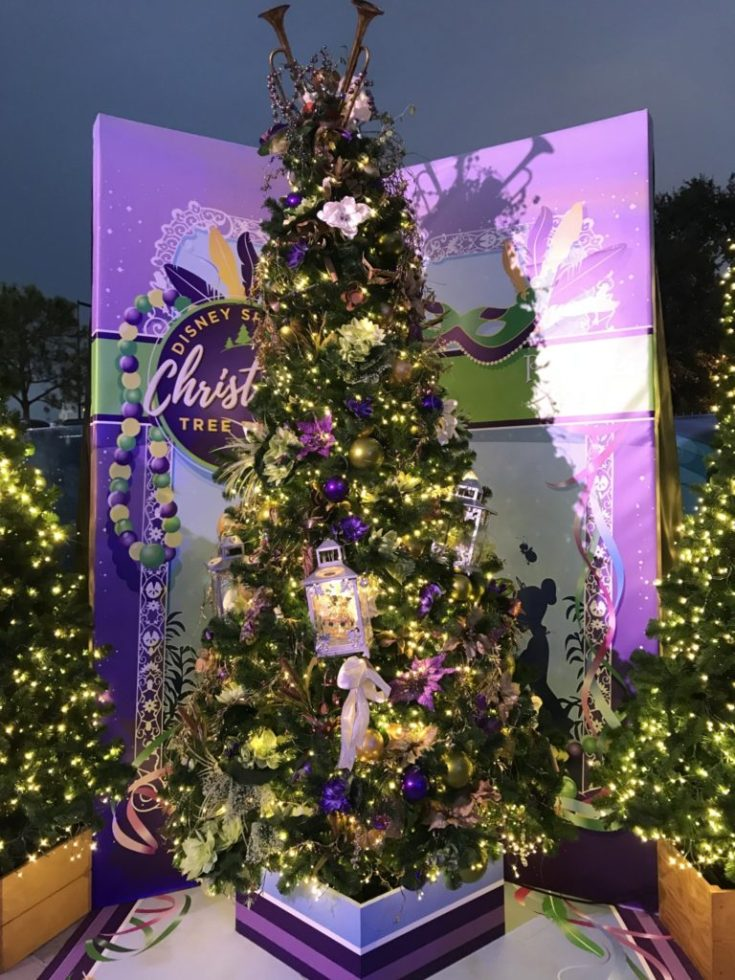 Disney Christmas Tree Trail at Disney Springs