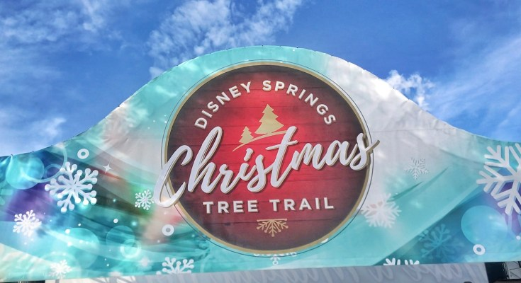 Disney Christmas Tree Trail at #DisneySprings