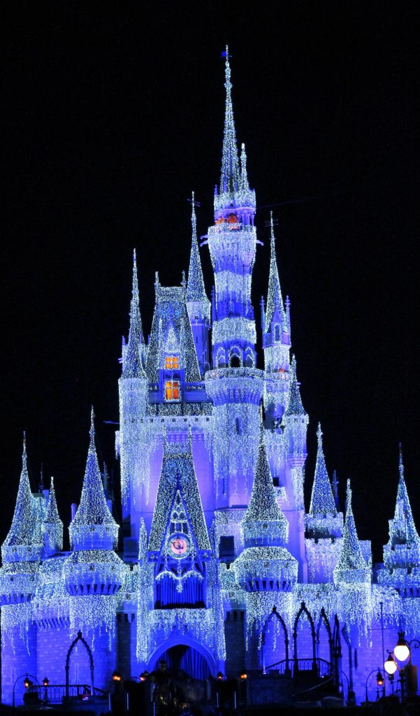 A Frozen Holiday Wish Christmas Party at Disney World