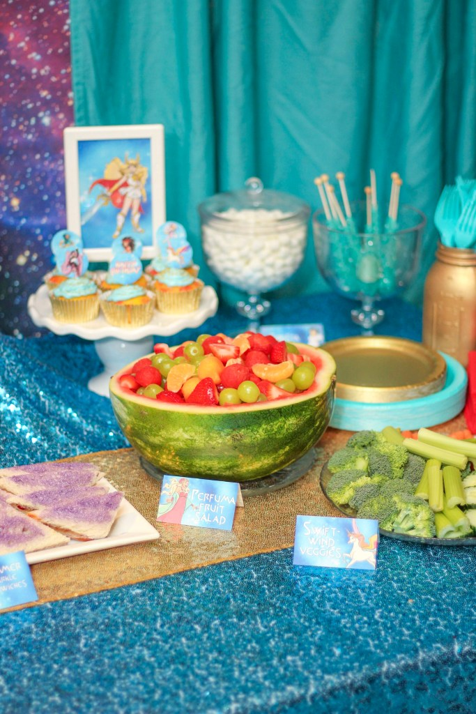 Perfuma Fruit salad She-Ra birthday ideas