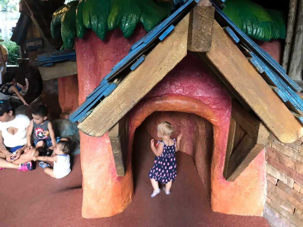 Splash Mountain Play Area