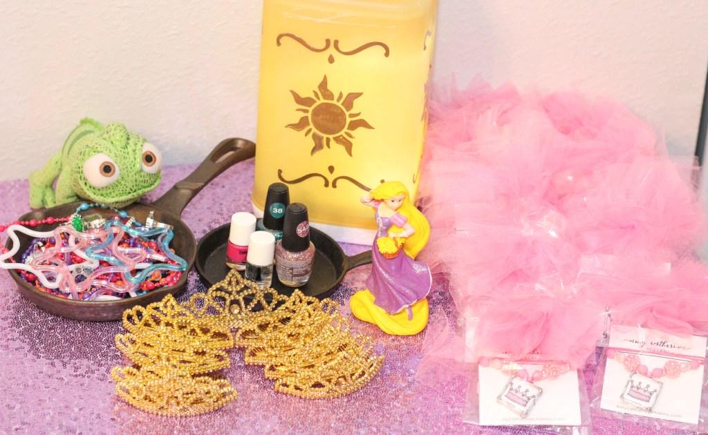 Rapunzel themed Beauty Bar