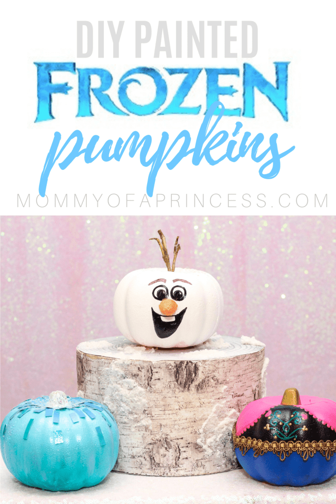 Simple Diy Frozen Pumpkin Painting Ideas For Elsa Anna And Olaf