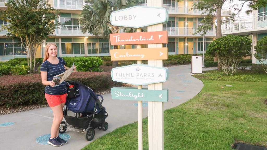 Garden Walk Way to the Parks Universal Orlando