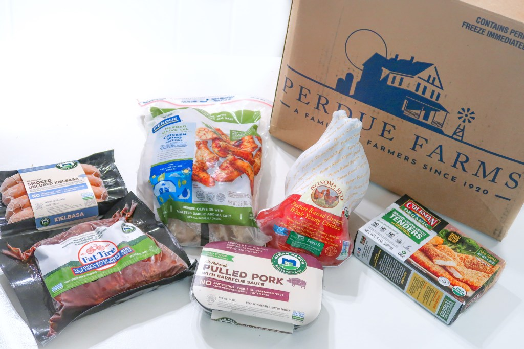 Easy to Shop Online for Quality Meat with new Perdue Farms website featuring curated bundles with 25% savings!