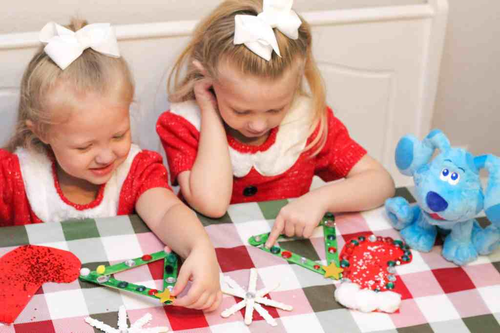 Christmas things to do with kids: Making homemade ornaments