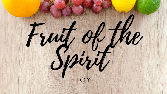 true joy fruit of the spirit devotional