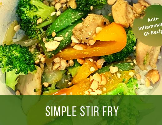 simple anti inflammatory stir fry