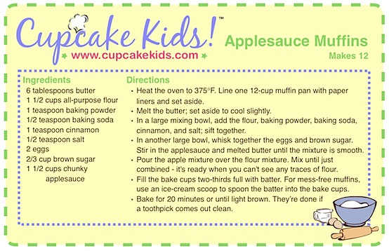 Giveaway: After-School Snack Cooking Lessons With Cupcake