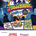 Celebrate Halloween at the Sky Halloween Superheroes Event