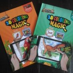 Book Review: EVO 3D Augmented Reality Coloring Magic Dino and Bird Books and App