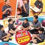 Summer Fun at the Jollibee Kids Club Mini Managers Camp!