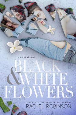 Black & White Flowers by Rachel Robinson