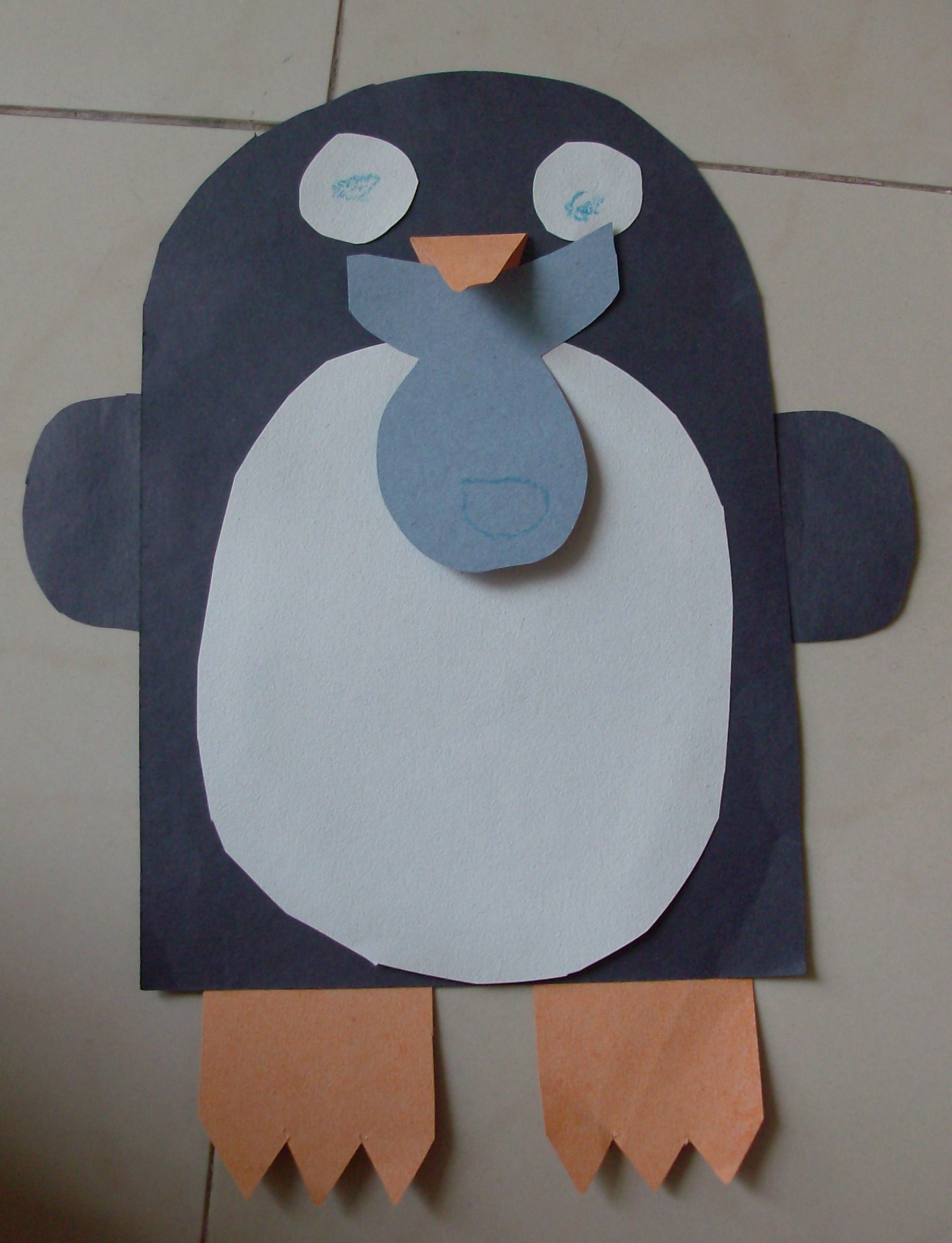 Indoor Fun For Kids Winter Penguin Craft And Song
