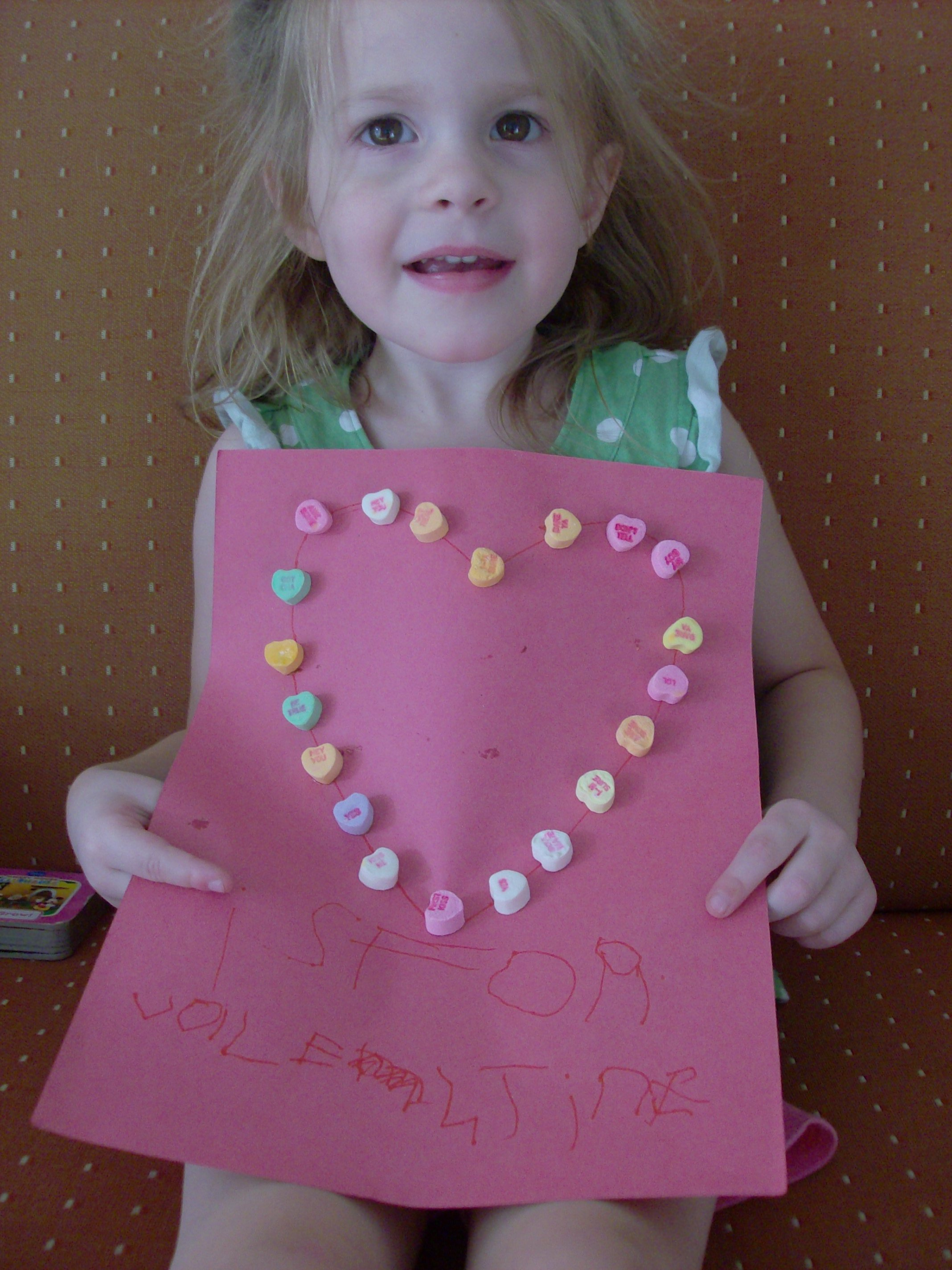 V Is For Valentine Preschool Activity And Valentine S Day