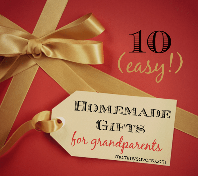 Homemade Gifts For Grandparents Ten Easy Ideas