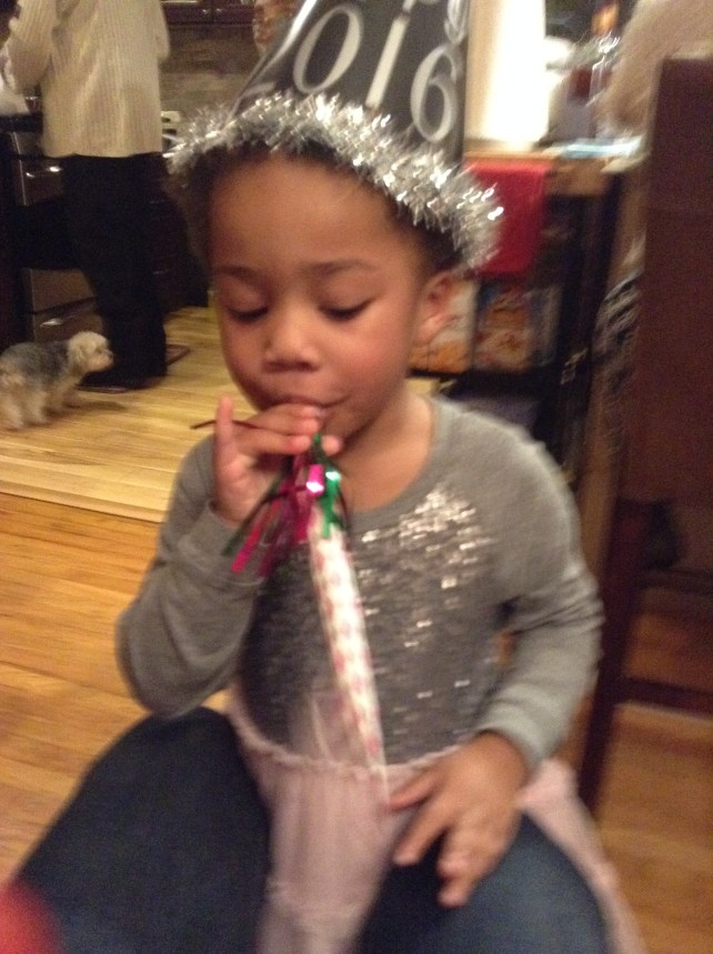 Quinn Bringing in the New Year