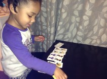 Playing Minion Memory & Collecting Matching Cards
