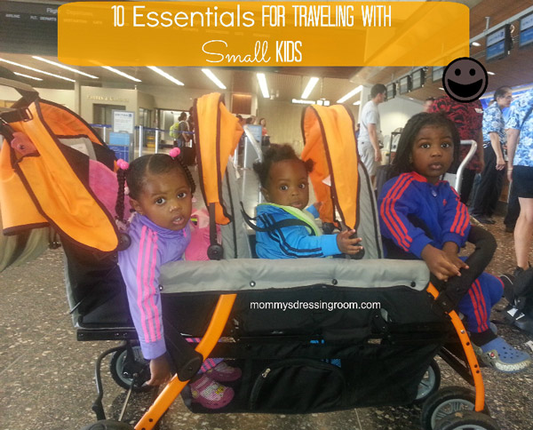 Zion, Zaniel and Vayda ready to travel