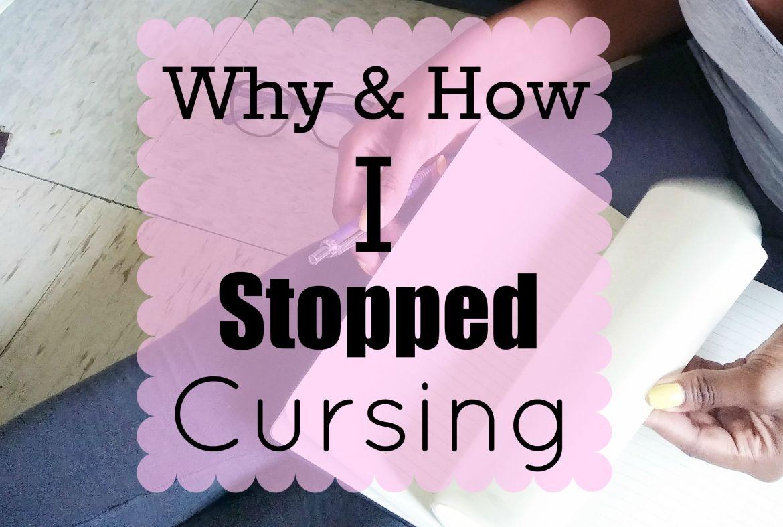 stop cursing