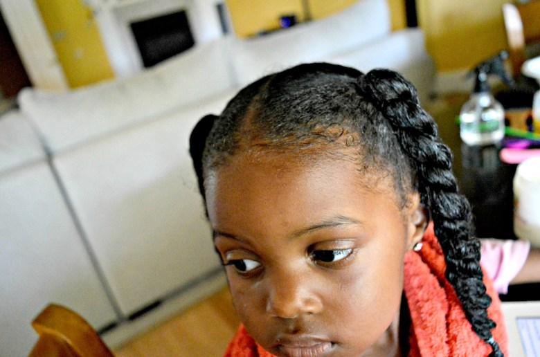 Natural Hair Regimen for Toddlers| Natural Hair| Loc Method| Styling Natural Hair| Natural Hair for Toddlers| Detangling Natural Hair