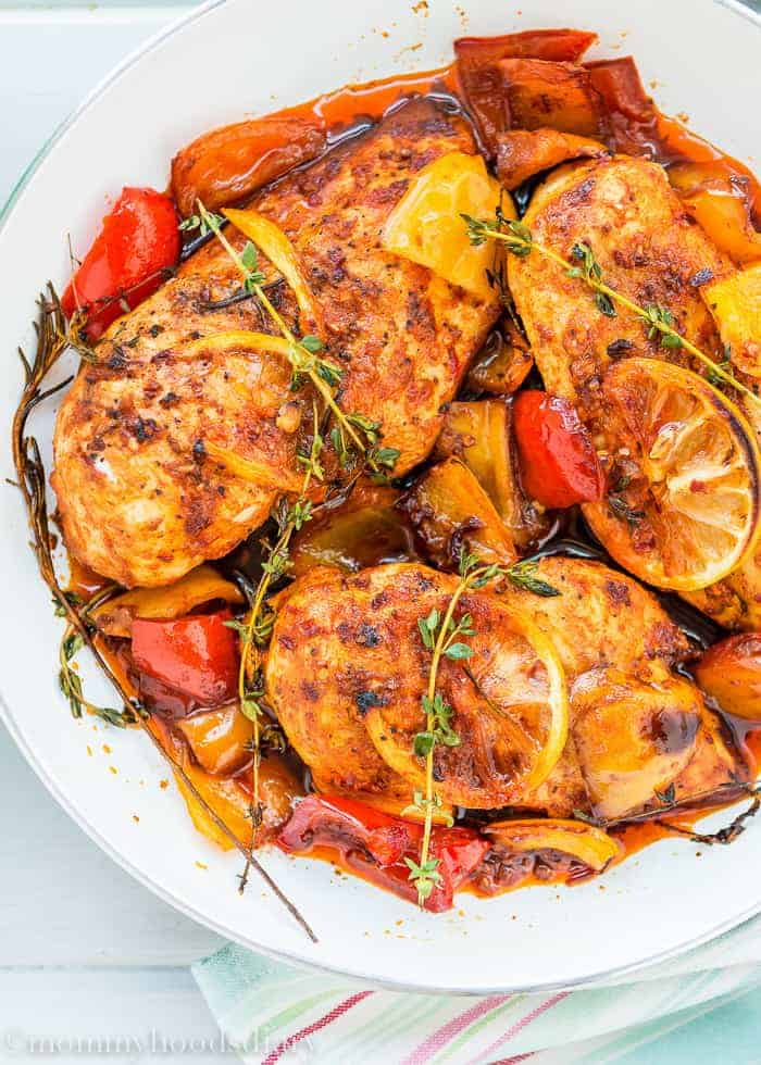 Easy Peri Peri Chicken Breasts - Mommy's Home Cooking