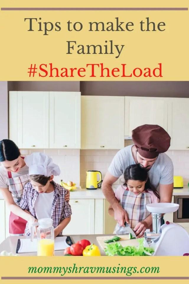 Sponsored Post, MommyShravmusings, Ariel Campaign, #ShareTheLoad, #ShareTheLaundry, #ShareChoresMultiplyLove