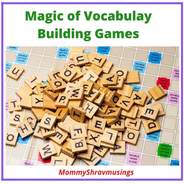 MommyShravmusings, Vocabulary Building Games, Magic of Vocabulary, Vocabulary, Importance of Vocabulary, Word Games, Parenting Blogger, Chennai Blogger