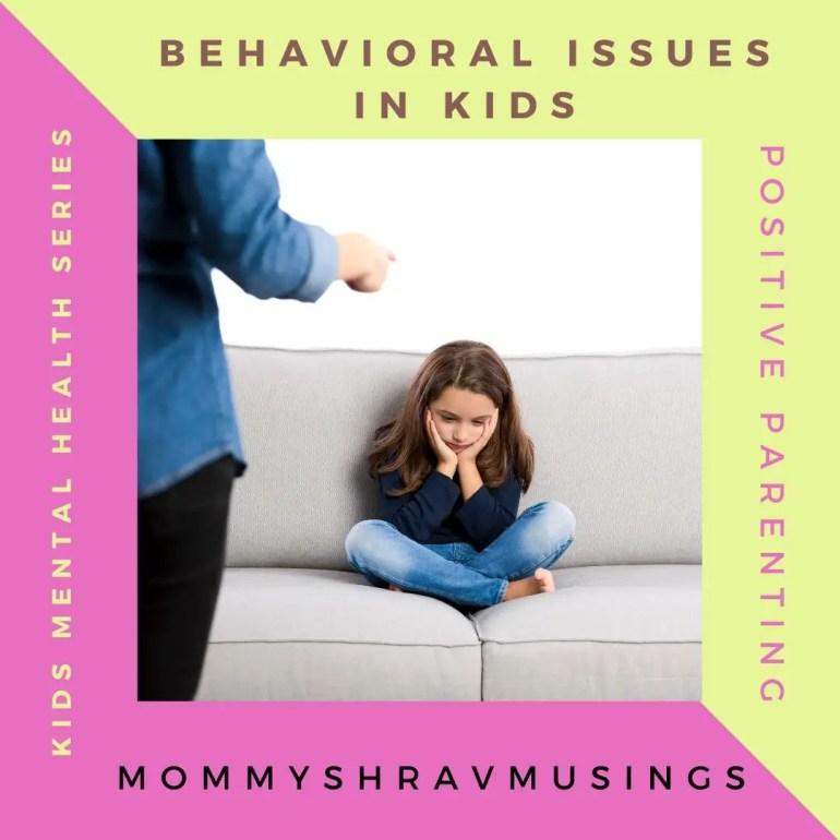 5 Top Common Behavioral Problems in Kids