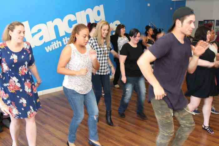 dwts troupe dancing lesson