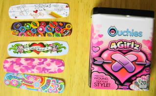 ouchies bandaid review