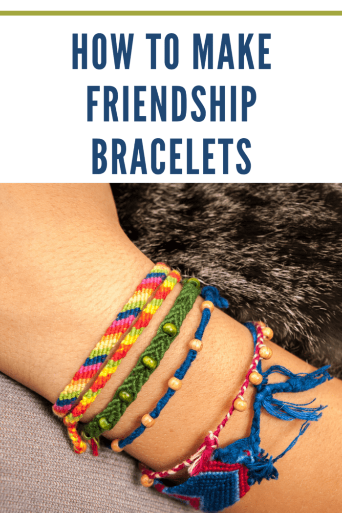 My kiddos love friendship bracelets. They love to wear them, make them and share them. Here is an easy tutorial on how you can get into the Friendship Bracelet Fun by making your own friendship bracelets