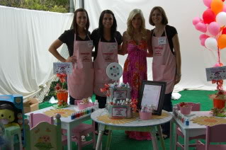 piggy paint with tori spelling