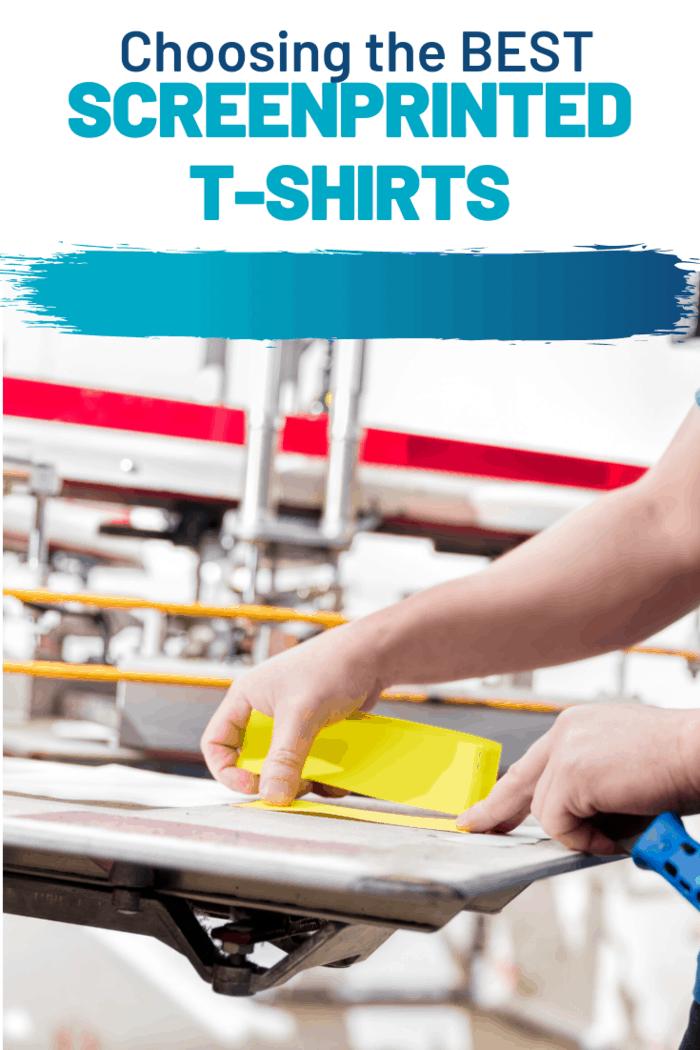 choose the best screenprinted tshirts