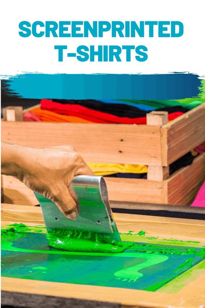 Screenprinted t-shirts are fun and can carry a statement without even having to open my mouth.