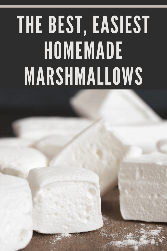 These are not the commercial marshmallows you grew up on.