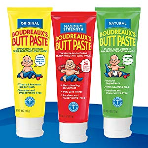 Super Mom powers aside, there are a lot of things that can cause a diaper rash, which is why you should have Boudreaux's Butt Paste on hand.