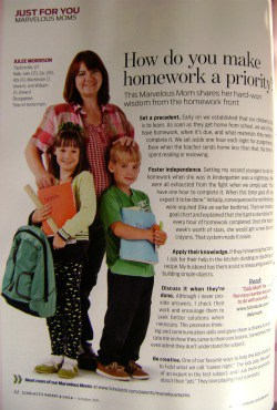 scholastic's parent and child magazine October 2011