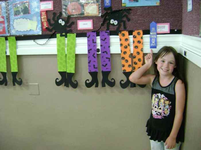 halloween witch banner first place at state fair