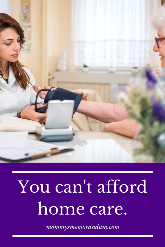 Although you probably want to keep your parents in their own home (or yours) for as long as possible, with the best carer possible from Homecare Preferred, at some point, you may find yourself unable to support the high cost of home-based care.