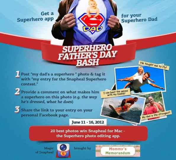 Superhero Father's Day Bash