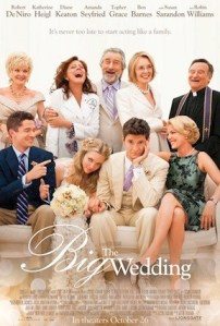 The Big Wedding, Hits Theaters October 26