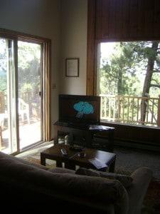 The Hytta Living Room walking through the front door