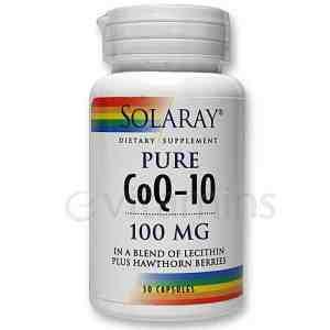 Solaray's CoQ-10 Review
